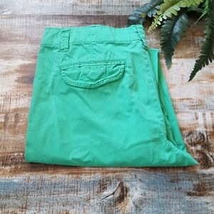 GAP Straight Chino Khaki Pants Sz 8 Jade Green